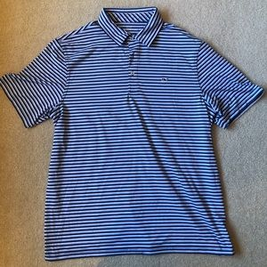 Vineyard Vines size L performance polo excellent